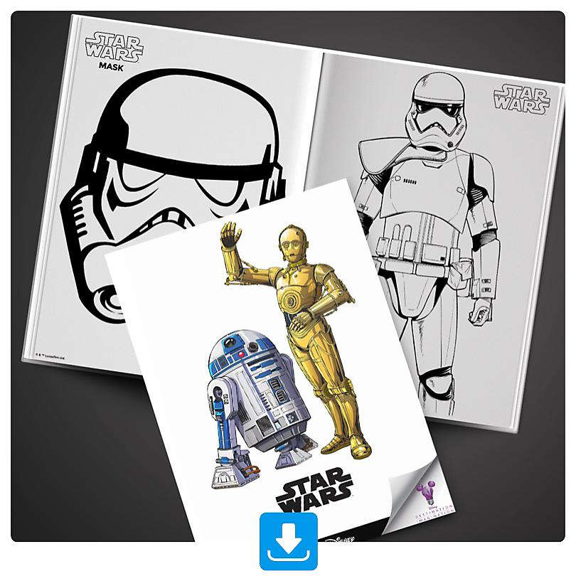 Star Wars Activity Booklet