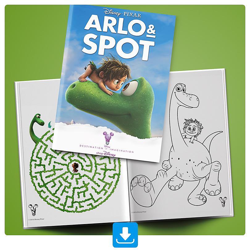 Arlo & Spot Aktivitätenheft