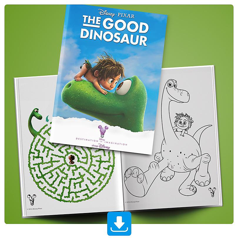 The Good Dinosaur Booklet