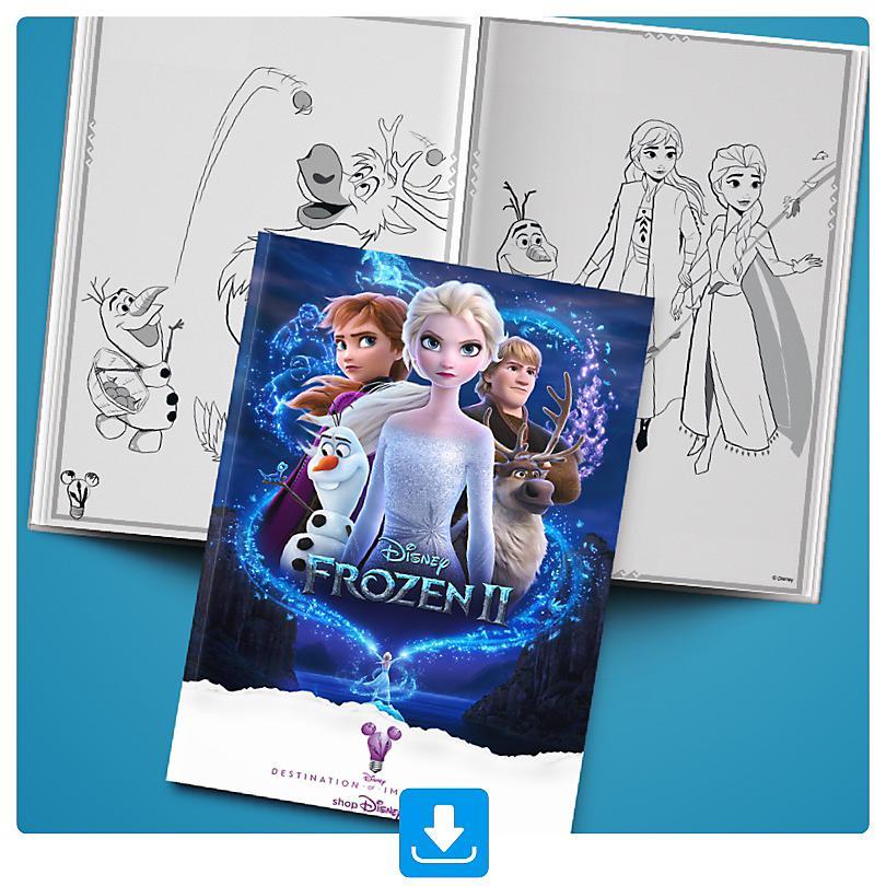 Frozen 2 Activity Booklet