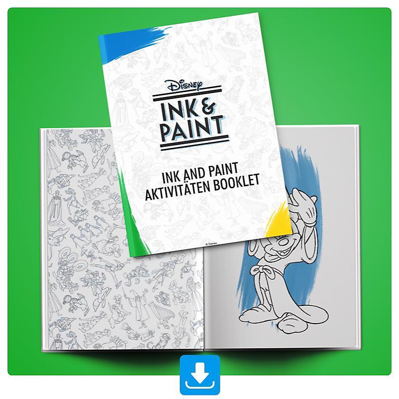 Ink and Paint Aktivitäten Booklet