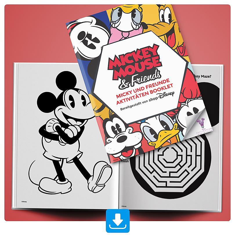 Micky und Freunde Aktivitäten Booklet