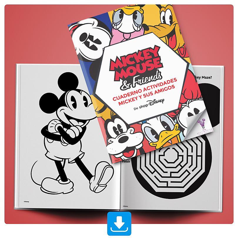 Cuaderno Actividades Mickey y sus Amigos