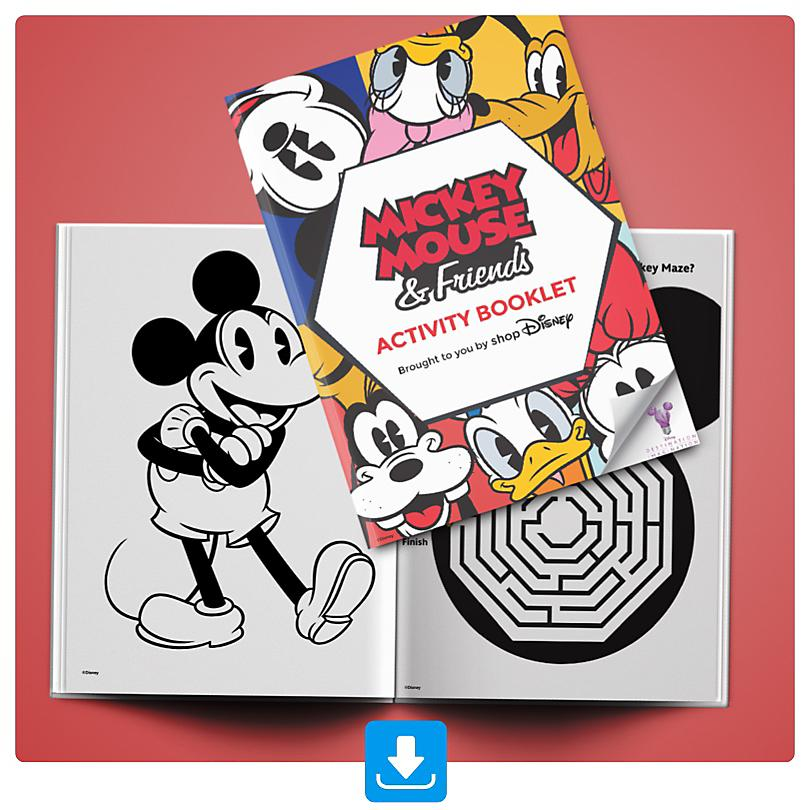 Mickey and Friends Activity Booklet