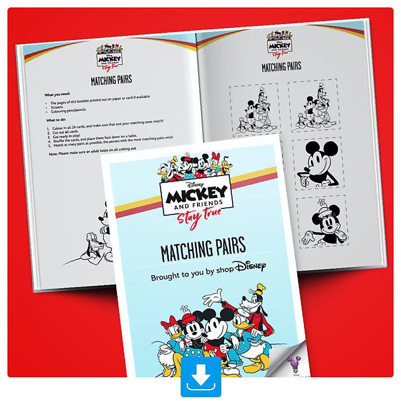 Sensational Six Matching Pairs Activity Booklet