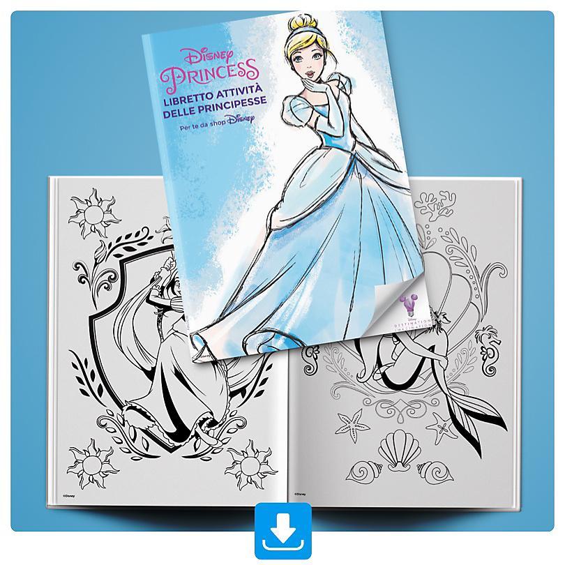 Libretto Attività Principesse Disney