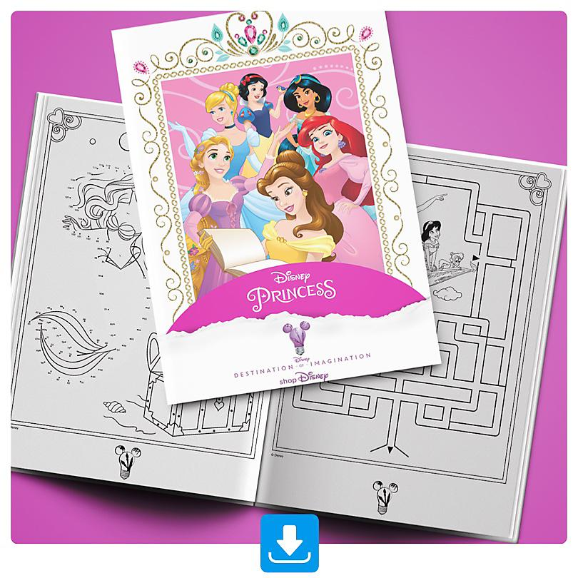 Princess Activity Booklet