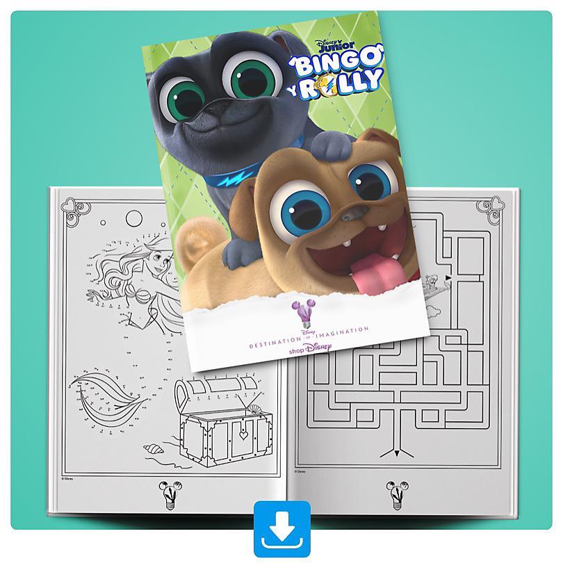 Cuaderno actividades Bingo & Rolly