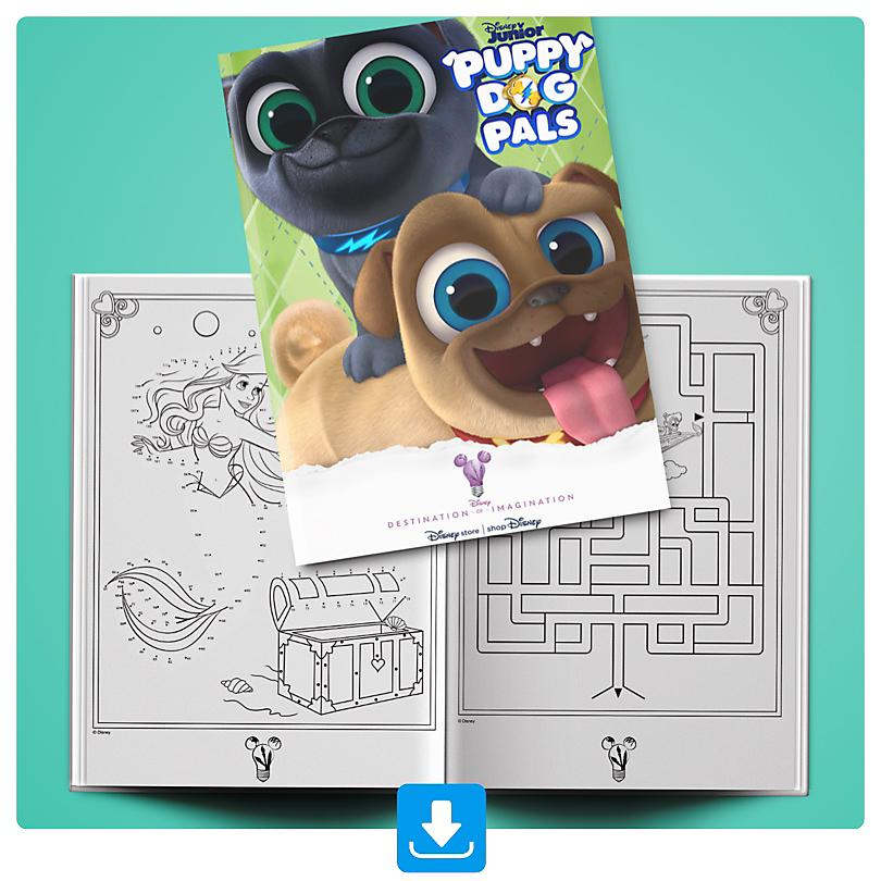 Puppy Dog Pals Activity Booklet