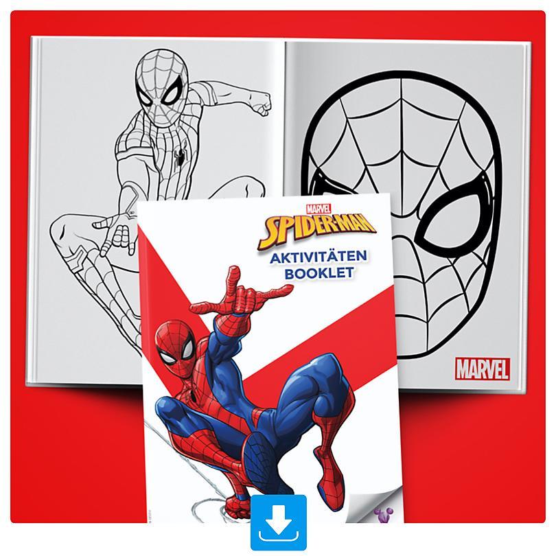 Spider-Man Aktivitäten Booklet