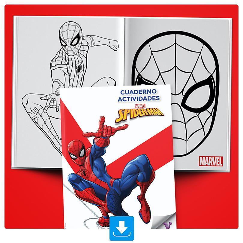 Cuaderno Actividades Spider-Man