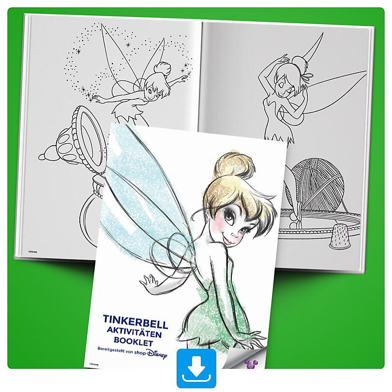 Tinkerbell Aktivitäten Booklet