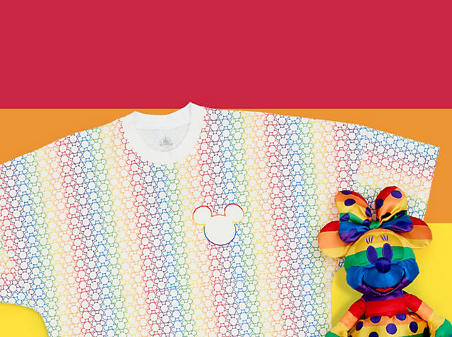 Collezione Rainbow Disney Festeggia l'amore con la nostra nuova, fantastica e coloratissima collezione ACQUISTA ORA