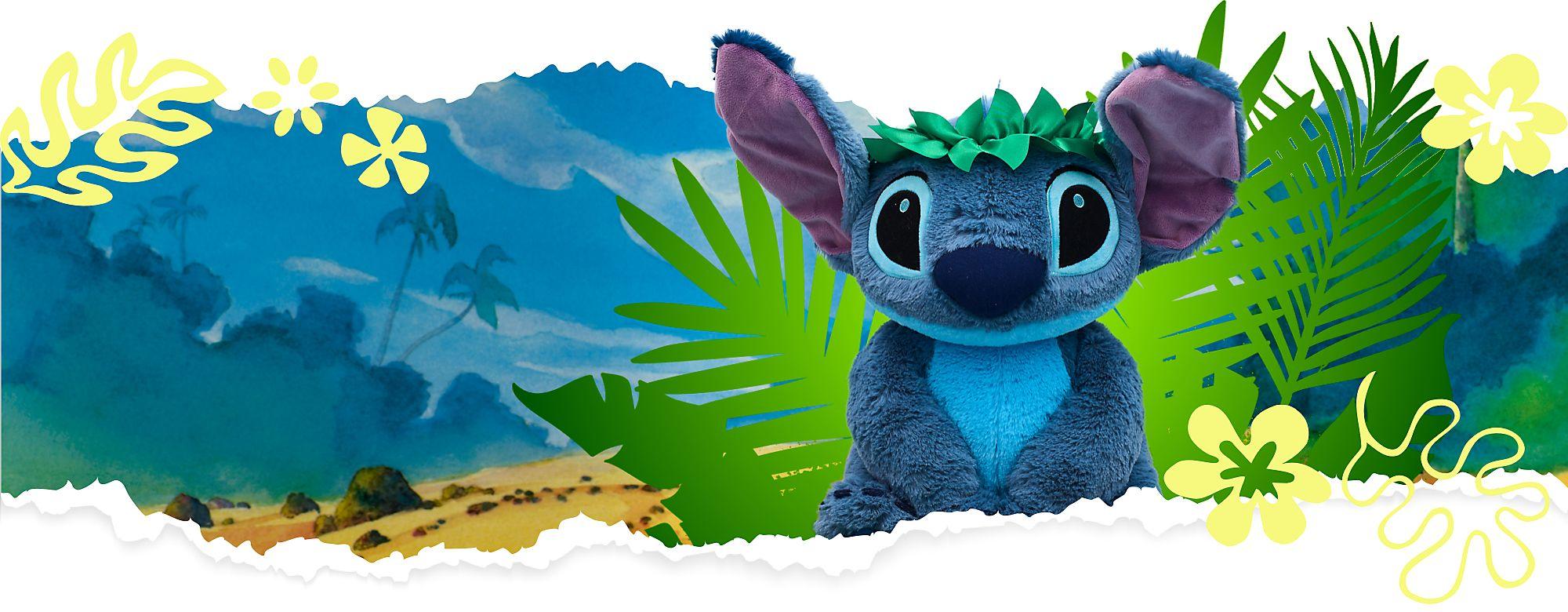 Stitch Hawaii Kuscheltier für nur 14,90 € Ab einem Einkauf von 15 € JETZT KAUFEN