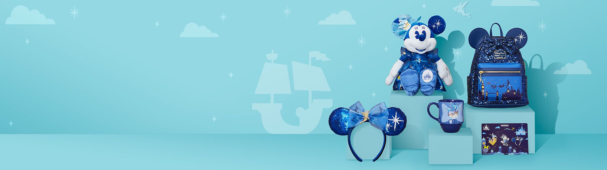 Peter Pan's Flight | Series 6 Make your way towards the second star to the right with our enchanting collection