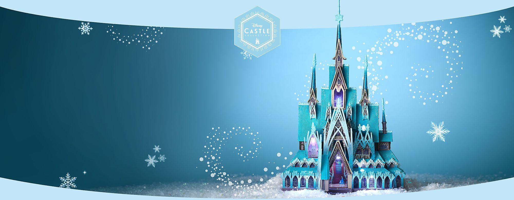 Disney Castle, série « La Reine des Neiges » Découvrez une collection en édition limitée qui rend hommage au lieu mythique d'un conte intemporel PROCHAINEMENT