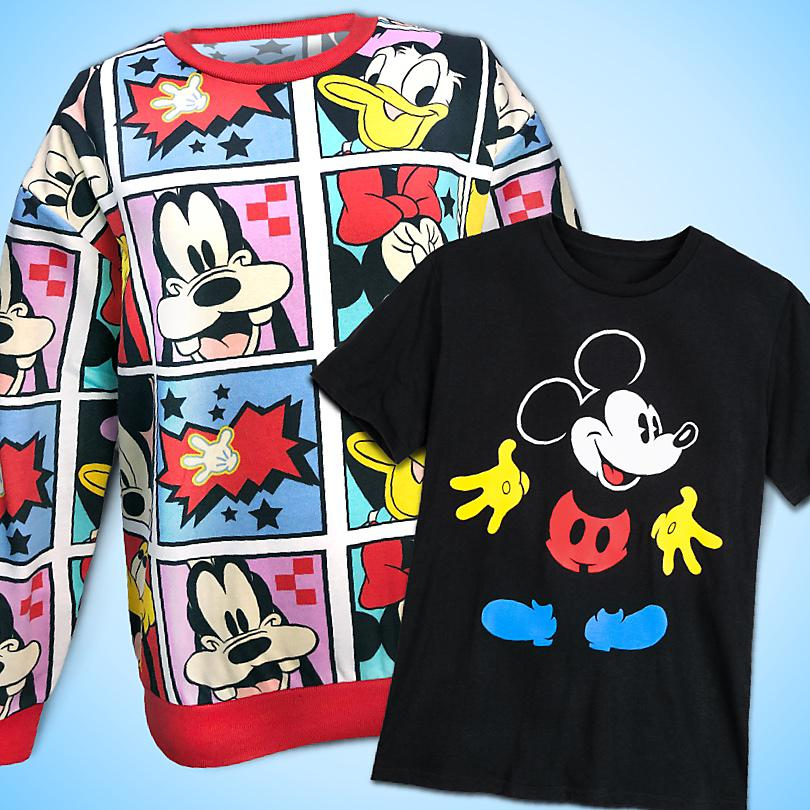 Micky & Co. In den T-Shirts unserer brandneuen Kollektion setzt du neue Fashion-Statements