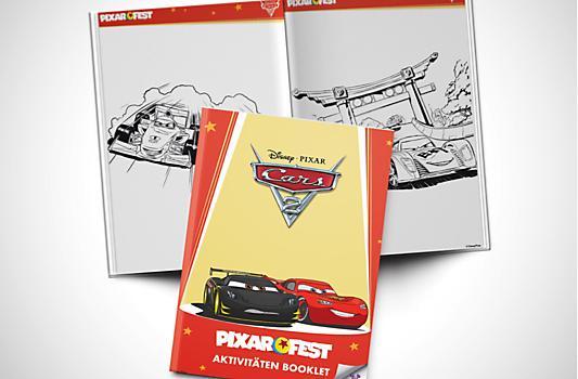 Cars 2 Aktivitäten Booklet