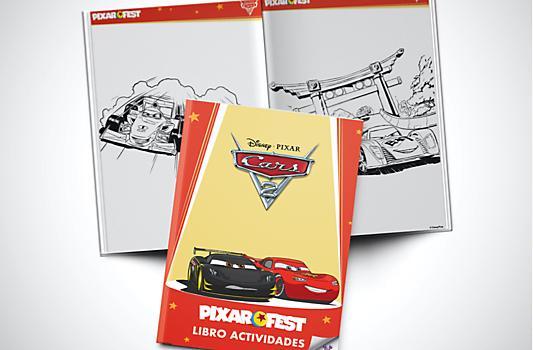 Libro Actividades Cars 2