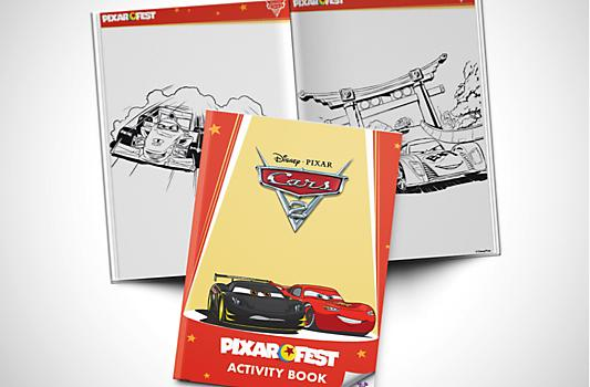 Cars 2 Activity Booklet