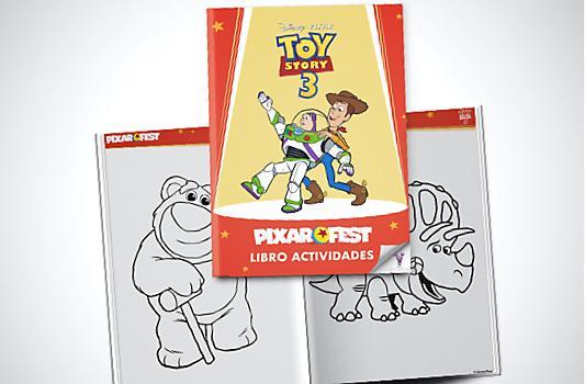 Libro Actividades Toy Story 3