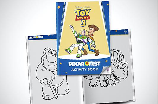 Toy Story 3 Activity Booklet