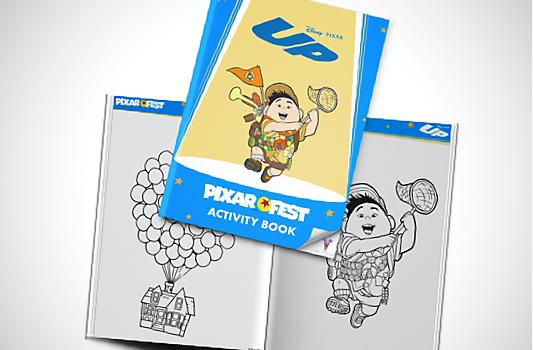 Up Activity Booklet