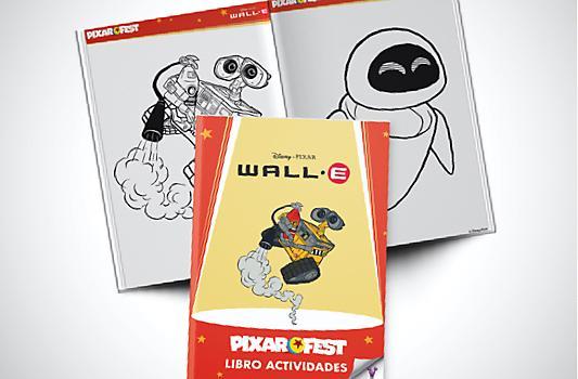 Libro Actividades Wall-e