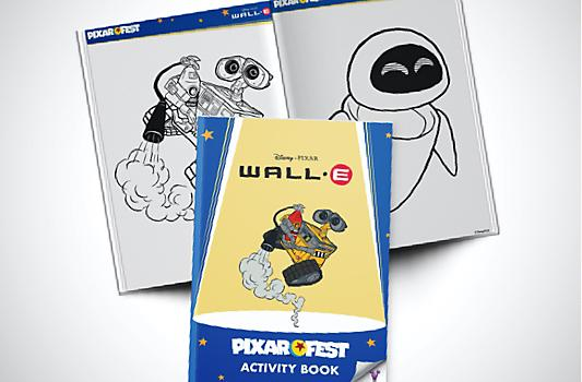 Wall-e Activity Booklet