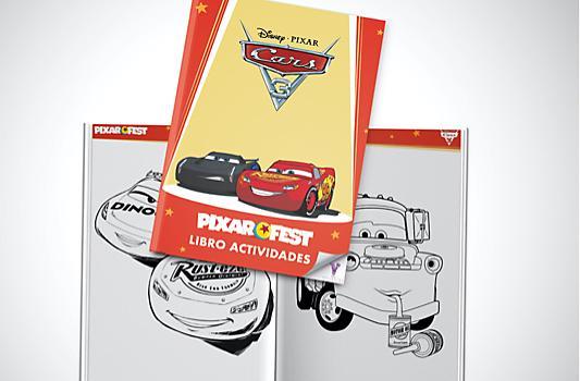 Libro Actividades Cars 3