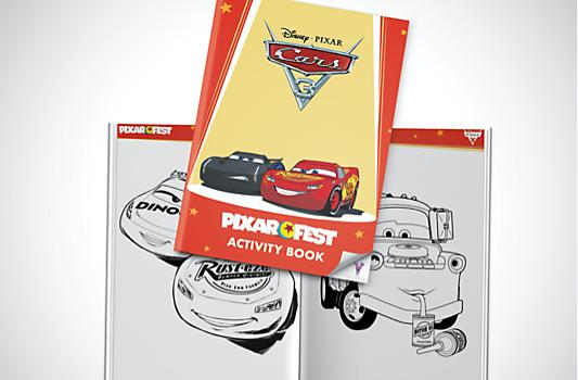 Cars 3 Activity Booklet