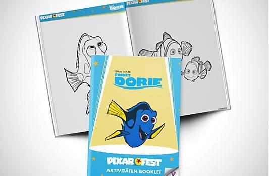 Findet Dory Aktivitäten Booklet
