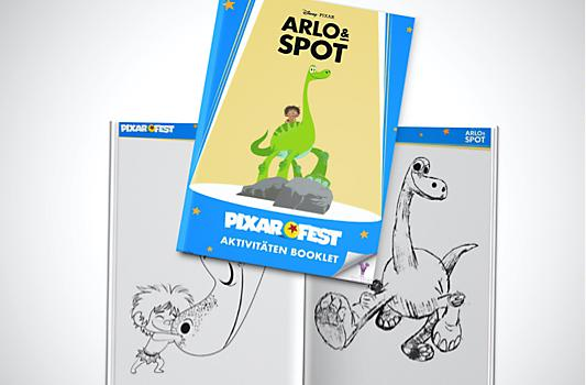 Arlo und Spot Aktivitäten Booklet