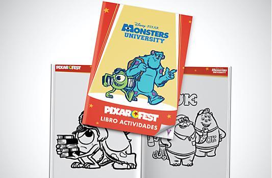 Cuaderno Actividades Monstruos University
