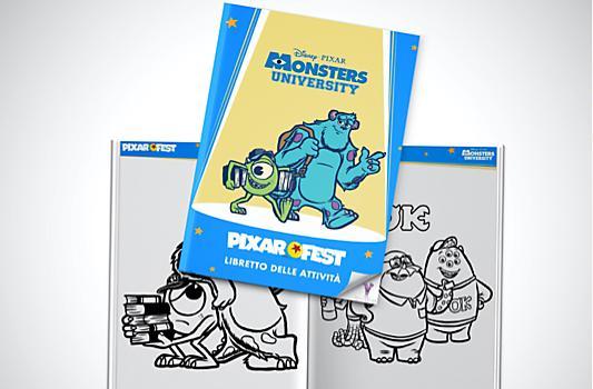 Libretto delle attività di Monsters University