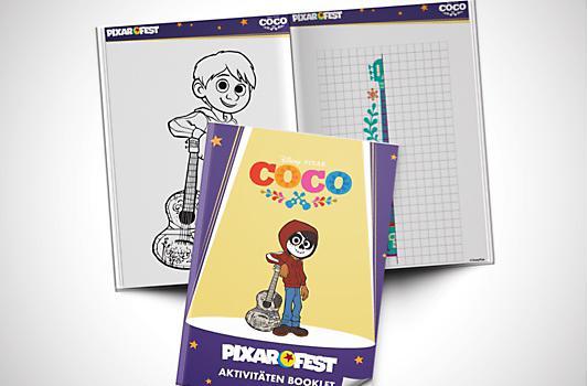 Coco Aktivitäten Booklet