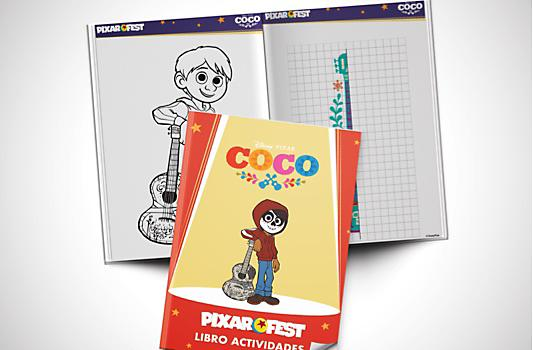 Libro Actividades Coco