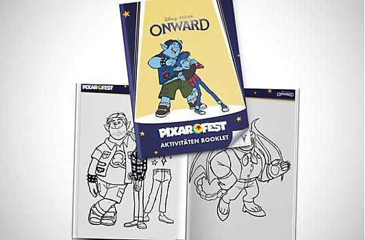 Onward Aktivitäten Booklet