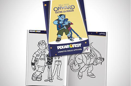Libretto delle attività di Onward