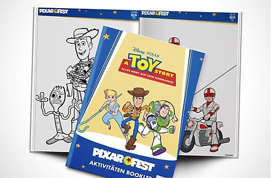 A Toy Story - Alles hört auf kein Kommando Aktivitäten Booklet