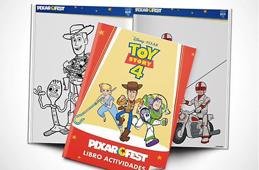 Libro Actividades Toy Story 4