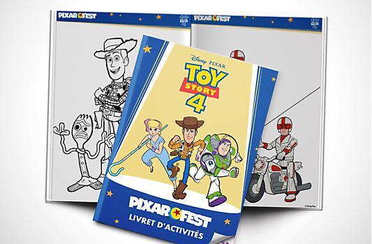Livret d'activités Toy Story 4