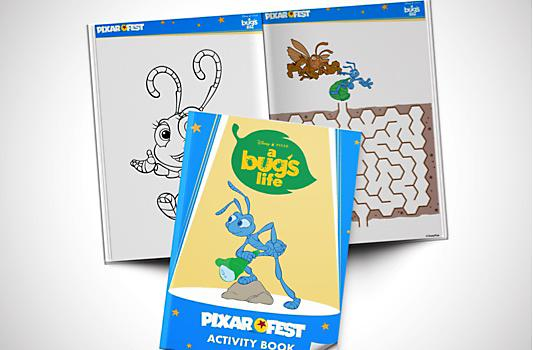 A Bugs Life Activity Booklet