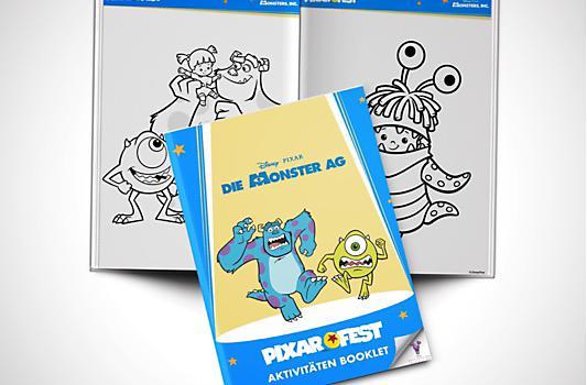 Die Monster AG Aktivitäten Booklet