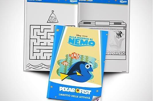 Libretto delle attività di Alla Ricerca di Nemo
