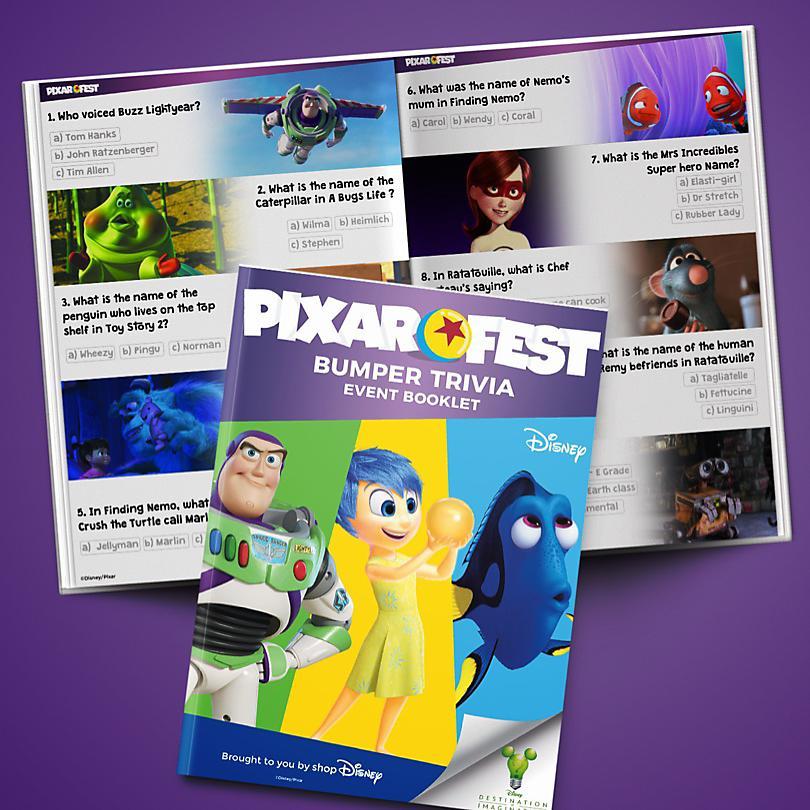 Week 4 Pixarfest Trivia