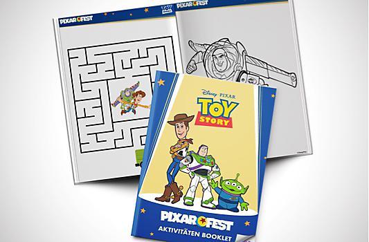 Toy Story Aktivitäten Booklet