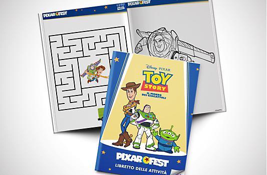 Libretto delle attività di Toy Story