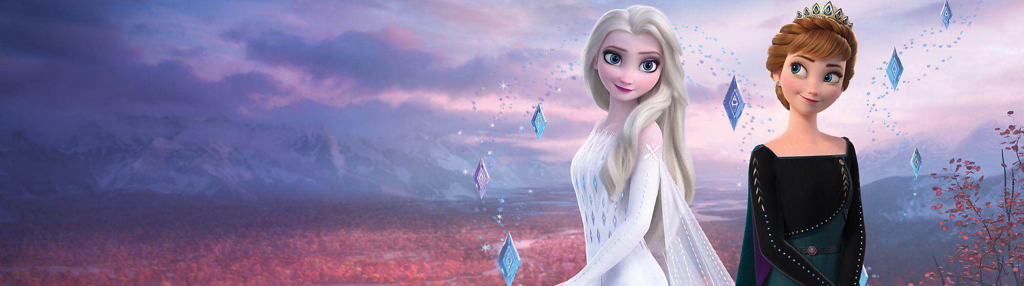 Die Eiskönigin 2 Entdecke unsere coole Kollektion an Spielzeug, Kostümen, Puppen und mehr mit deinen Lieblingscharakteren wie Anna, Elsa und vielen anderen