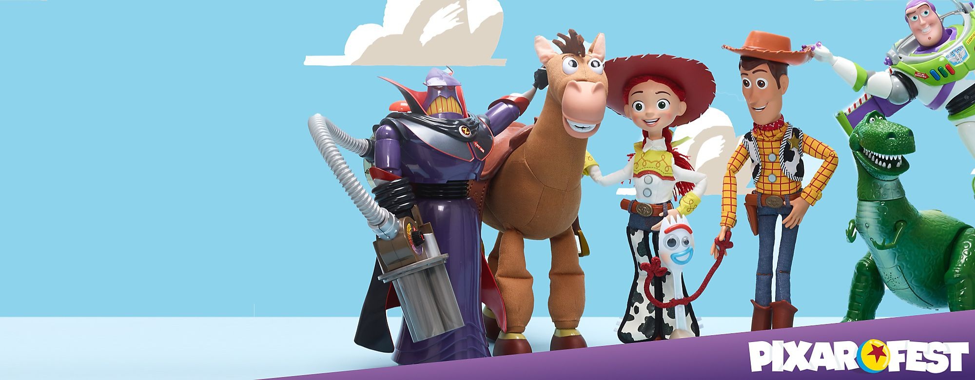 Pixar Fest To celebrate 25 years of Pixar filmmaking, Disney is launching Pixar Fest, a virtual film festival shining a spotlight on all of the movies streaming on Disney+ SHOP ALL PIXAR